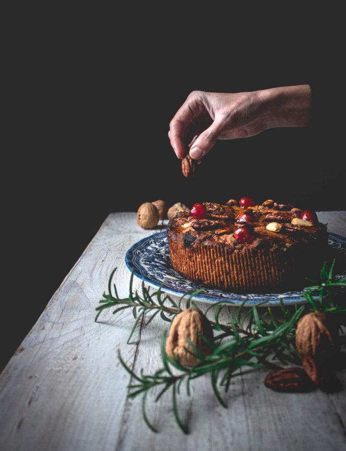 Mrs Weasley's (vegan) fruitcake