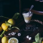 Lemon meringue cup